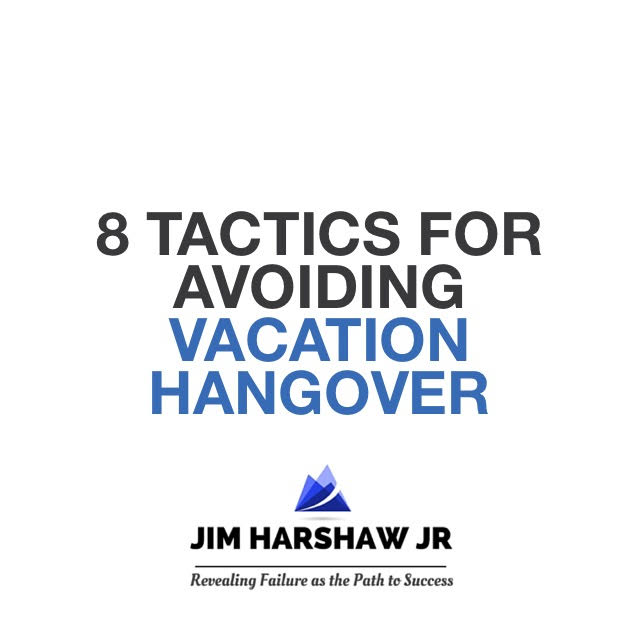How to avoid vacation hangover