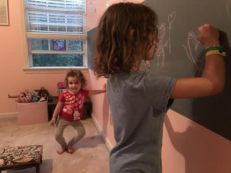 painting girls room