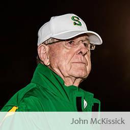 Jim Harshaw interviews retired Summerville, SC head football coach John McKissick