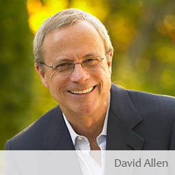 Jim Harshaw interviews David Allen of Getting Things Done