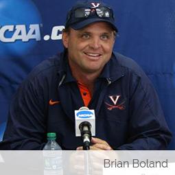 Jim Harshaw interviews USTA Coach and former UVA Men's Tennis Coach Brian Boland