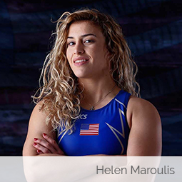 Jim Harshaw interviews the first ever Olympic Gold Medalist in women's wrestling for Team USA, Helen Maroulis
