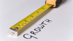 """A ruler measuring the worth """"growth."""" (Success Through Failure episode 315: How Google's Rules for Innovation Can Be Used to Hack Personal Performance and Breakthrough)"""